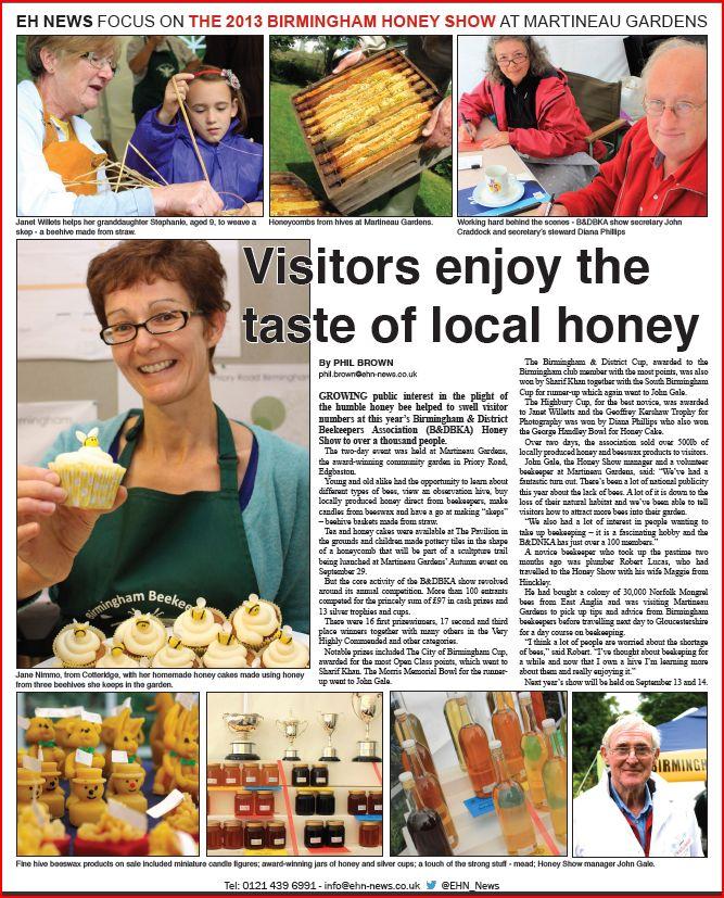 Honey Show - Review