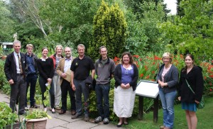 'Fit for the Future' organisaions touring Martineau Gardens