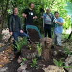 Therapeutic horticulture volunteers